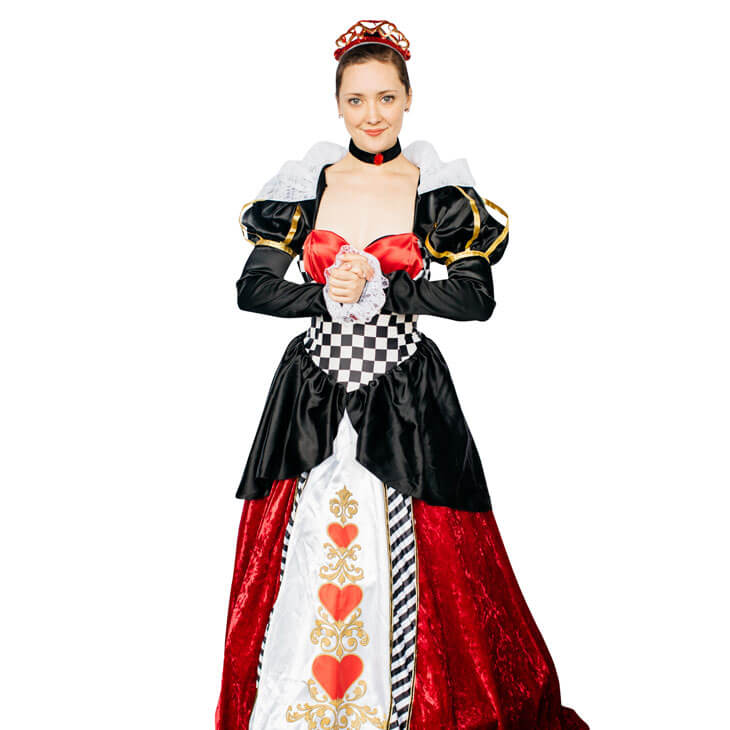Queen of Hearts Costume Party