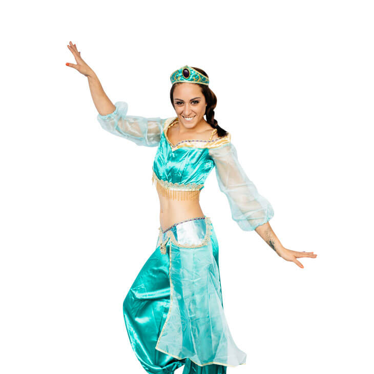 Princess Jasmin Costume Theme Party
