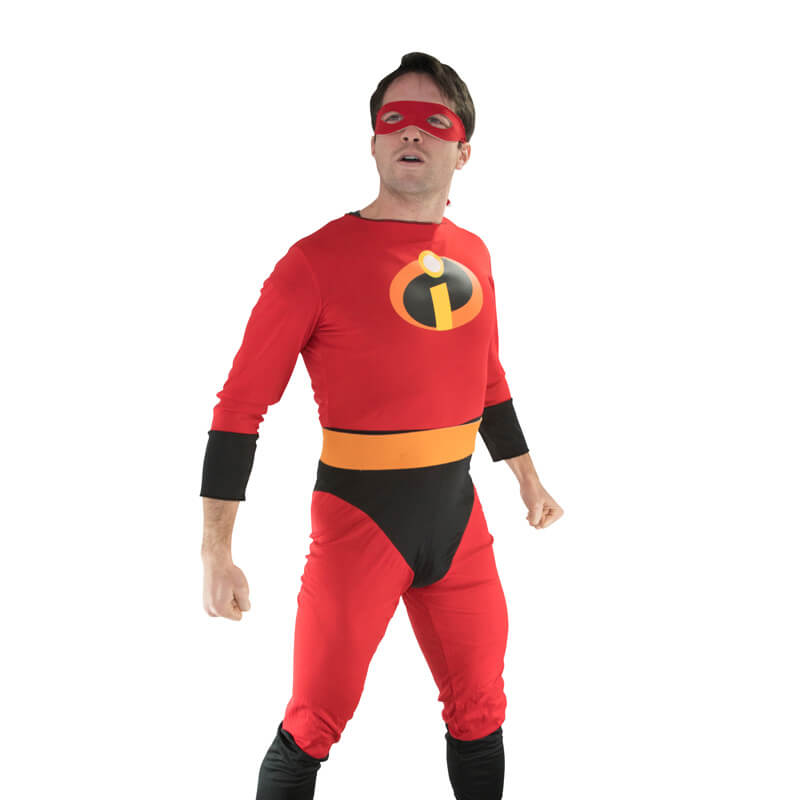 Mr. Incredible Costume Party