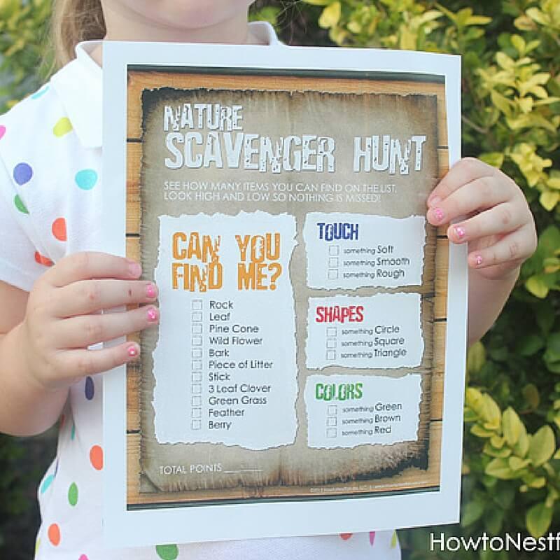 Scavenger Hunt Birthday Theme Party