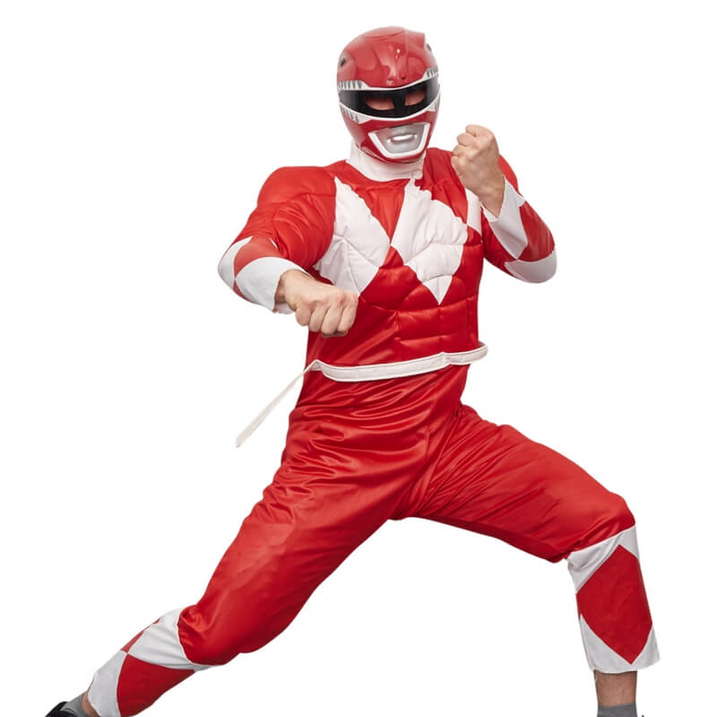 Red Ranger, Power Ranger Theme Party