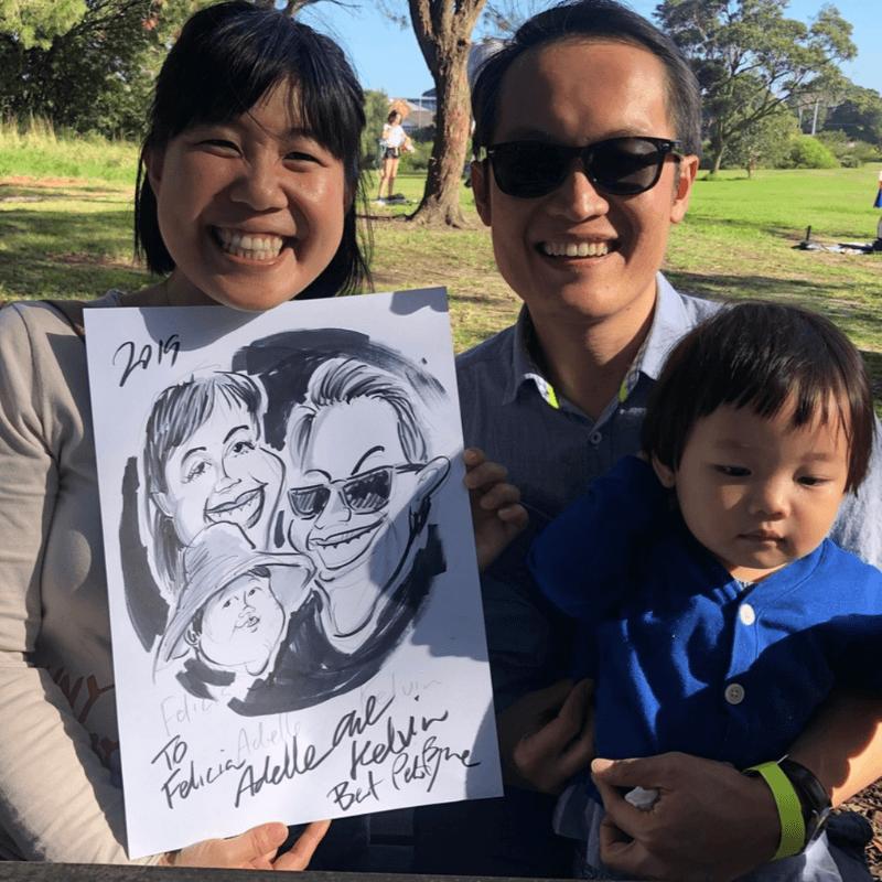 Hire a Caricaturist