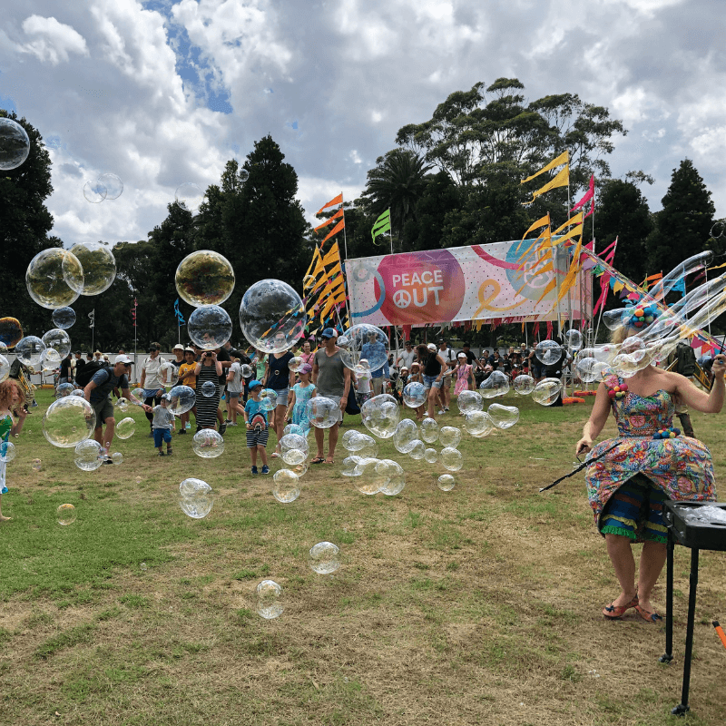 Giant Bubble Artists