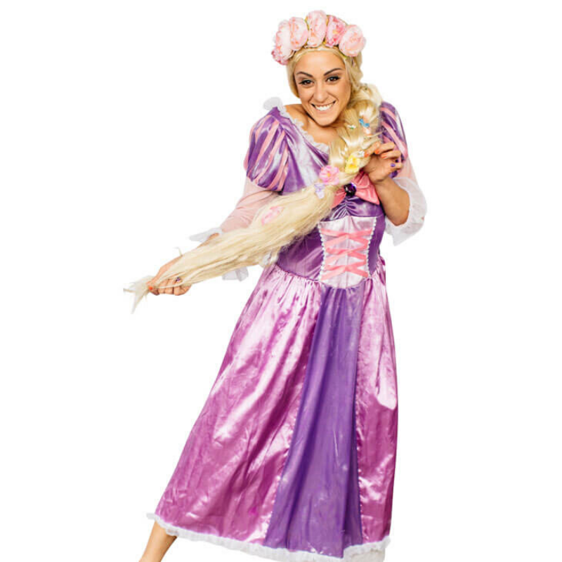 Rapunzel Party Entertainer